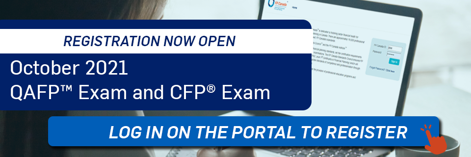 Registration Now Open for October 2021 Exams