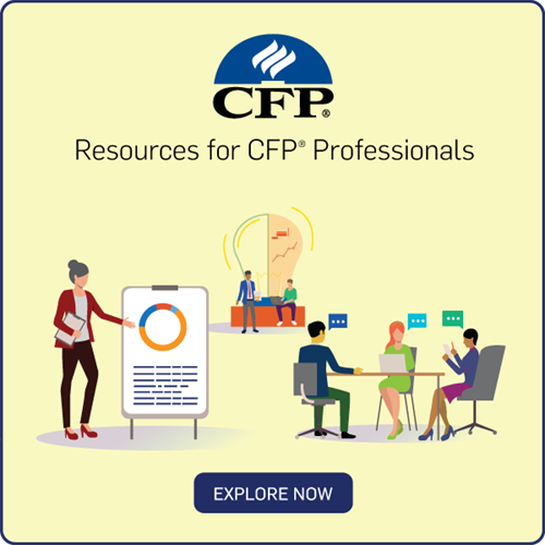 Resources for CFP Professionals