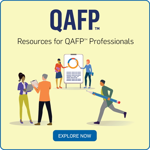 Resources for QAFP Professionals