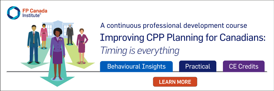 Improving CPP Planning for Canadians - Timing is everything. Learn more